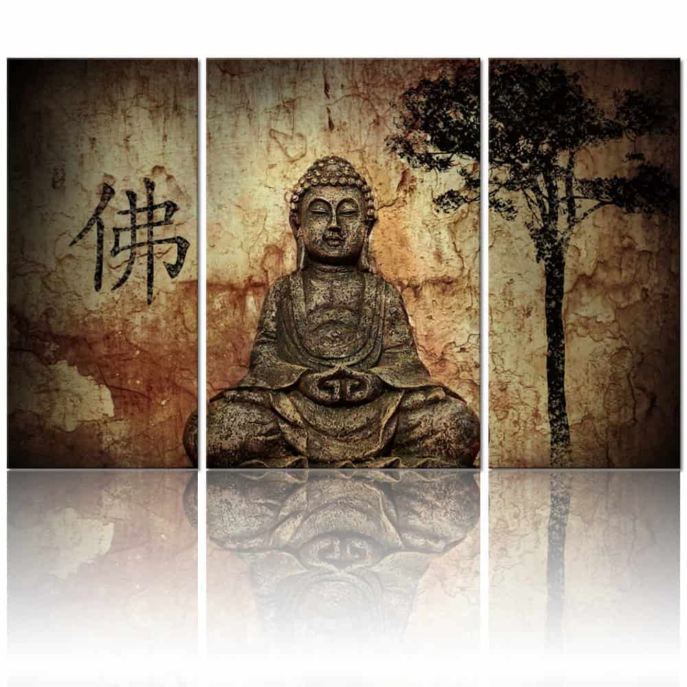 Buddha Canvas Prints