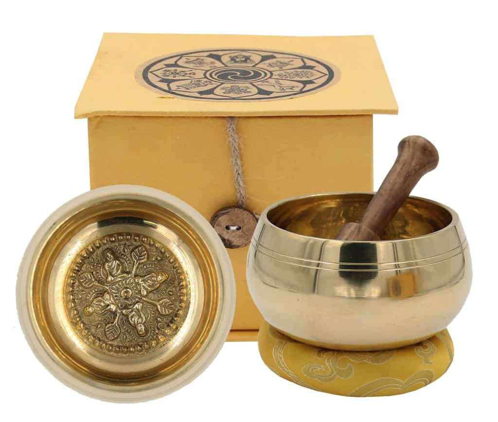 Dharmaobject's Tibetan Singing Bowl Set Wheel of Life