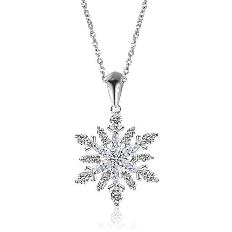 Snowflake Necklace Party Jewelry: For The Beautiful You
